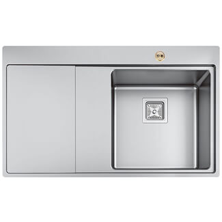Bristan Ingot 1.0 Stainless Steel Easyfit Kitchen Sink - Variations Available