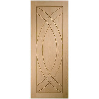 XL Joinery Treviso Unfinished Internal Oak Fire Door - Various Width Available