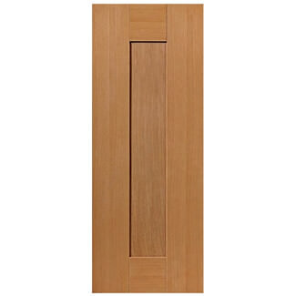 JB Kind Pre Finished Oak Axis Fire Door - Various Width Available