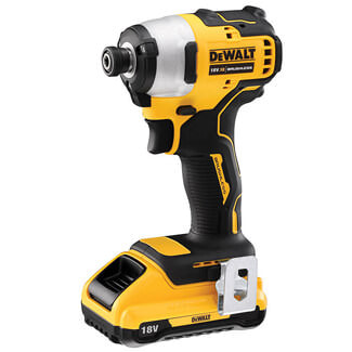 Dewalt 18V XR Brushless Impact Driver And 2 x 2.0Ah Battery