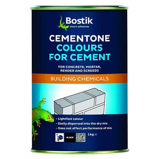 Bostik Cementone Colour For Cement - Finishes Available