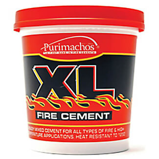 Oracstar Everbuild XL Fire Cement Buff 1kg
