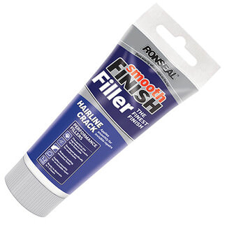 Ronseal Smooth Finish Hair Line Crack Ready Mix Wall White Filler 300g