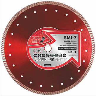 Dart Red Ten SMI-7 Universal Diamond Blade - More Sizes Available