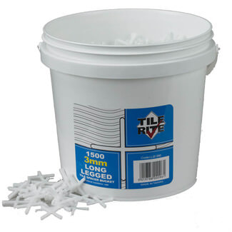 Tile Rite Long Leg Tile Spacer Buckets - Various Sizes Available