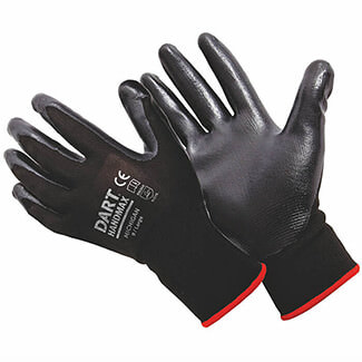 Dart Handmax Black Nitrile Glove - More Size Available