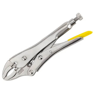 Stanley Curved Jaw Locking Plier - Various Length Available