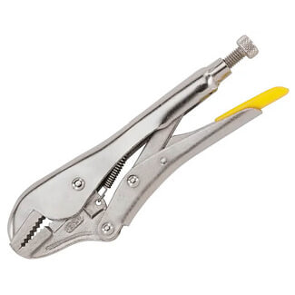 Stanley Straight Jaw Locking Plier - Various Length Available