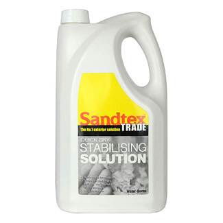 Sandtex Trade Quick Dry Stabilising Solution Clear 5L