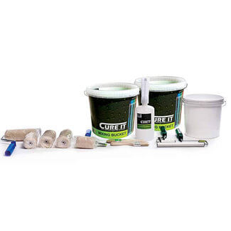 Cure-It Accessory Pack For Laminating GRP Roof