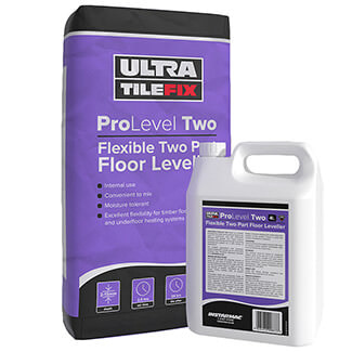 Ultra TileFix ProLevel Two Flexible Two Part Floor Leveller - Various Quantity Available