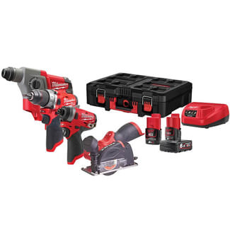 Milwaukee M12 FPP4A Packout Kit