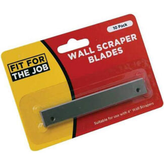 Rodo Fit For Job 4 Blades For Long Handle Wall Scraper