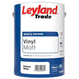 Leyland Trade Vinyl Matt Emulsion Paint - More Sizes And Colors Available