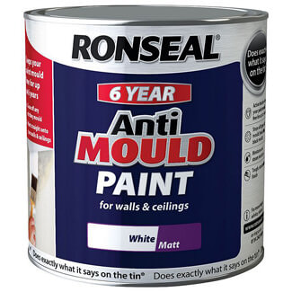 Ronseal 6 Year Anti Mould Paint 2.5L - Finishes Available