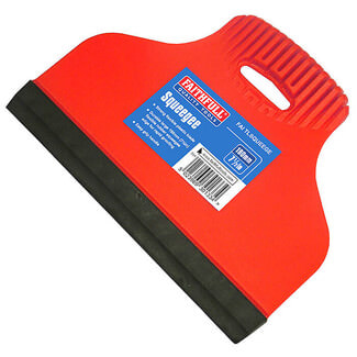 Faithfull Rubber Edge Squeegee 190mm