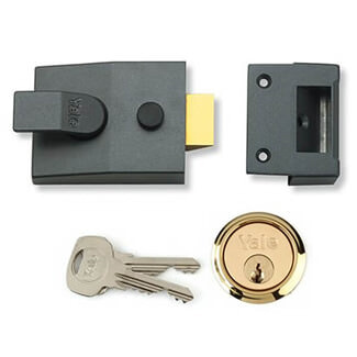 Yale Deadlocking Nightlatch - Various Finishes And Sizes Available