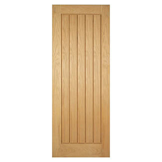 LPD Mexicano Internal Oak Fire Door - Variation Available