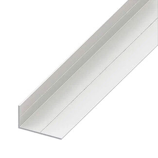 Rothley Trims PVC Angle White 1 Mtr Length - Various Sizes Available