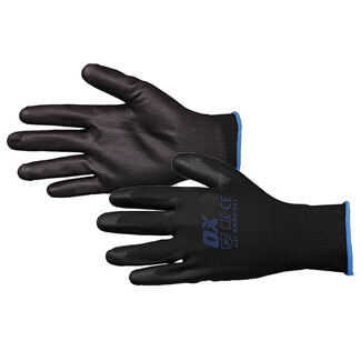 Ox Tools PU Flex Glove - Various Sizes Available