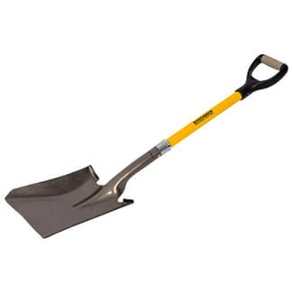 Roughneck Square Shovel D Handle