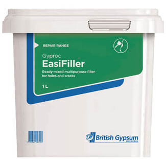 Gyproc Easi-Filler Ready Mixed - Various Sizes Available