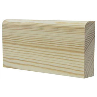 Buildworld Pine Bullnose Architrave 19 x 50mm x 2100mm Length