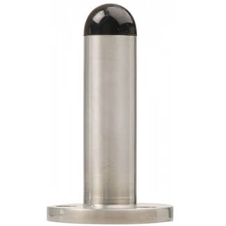 Dale 76 x 25mm Cylinder Door Stop Satin Chrome Plated