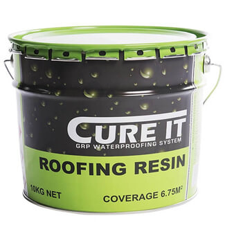 Cure-It GRP Roofing Resin - Variation Available