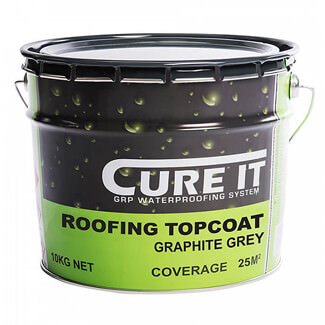 Cure-It Roofing Top Coat Graphite Grey - Variation Available