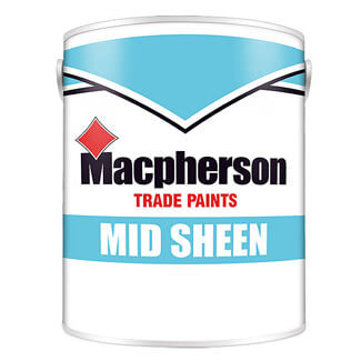 Macpherson Medium Sheen Paint - Various Colours And Pack Size Available