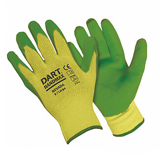 Handmax Builders Glove Green - Various Size Available