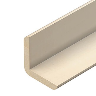 Cheshire Mouldings Cushion Corner Pine Angle - Various Sizes Available