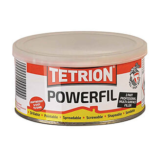 Tetrion Powerfil 2-Part Filler - Various Sizes Available