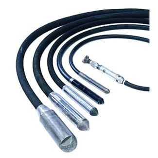 Belle BGP Pneumatic Shaft Poker Vibrators Complete With 4Mtr Hose  - Various Diameters Available