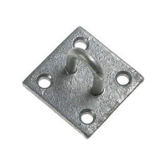 Chain Products Staple On Plate Galvanised 50mm