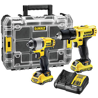 Dewalt  12V XR Twin Pack With 2 x 2.0Ah Battery