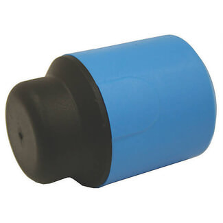 Buildworld MDPE Stop End Blue - Various Diameter Available