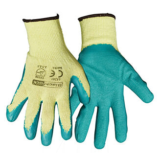 Rodo Blackrock Latex Gripper Glove - Various Sizes Available