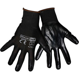 Rodo Blackrock Nitrile Super Grip Gloves - Various Sizes Available