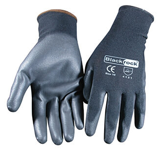 Rodo Blackrock Lightweight PU Grip Glove - Various Sizes Available