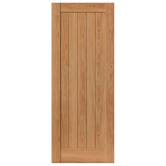 JB Kind Hudson Cottage Style Laminated Internal Oak coloured Pre-Finished Fire Doors - Various Size Available