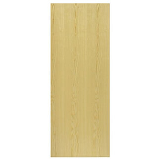 JB Kind Veneered Flush Ash Pre-Finished Internal Fire Door - Various Sizes Available