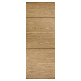 LPD Lille 1981 x 44mm Pre-Finished Oak Internal Fire Door - Various Width Available