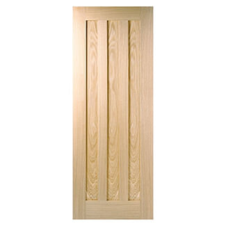 LPD Idaho 3 Panel Fire 44mm Thick Internal Door - Variation Available