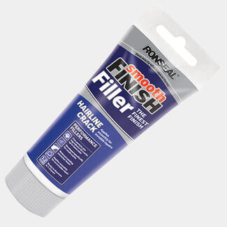 Ronseal Smooth Finish Hair Line Crack Ready Mix Wall Filler White - Sizes Available