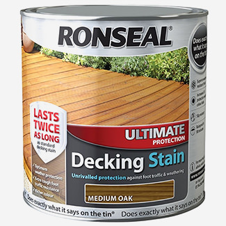 Ronseal Ultimate Protection Decking Stain 2.5L - Finishes Available