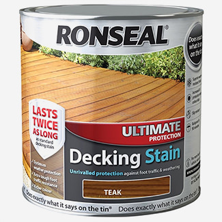 Ronseal Ultimate Protection Decking Stain - Various Colours And Packs Available