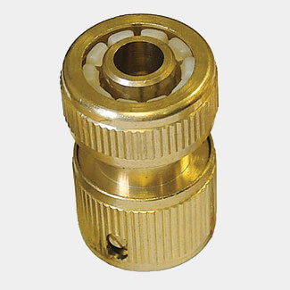 Faithfull Brass Female Hose Connector 12.5mm