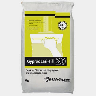 Gyproc Easi Fill 20 - Various Pack Size Available